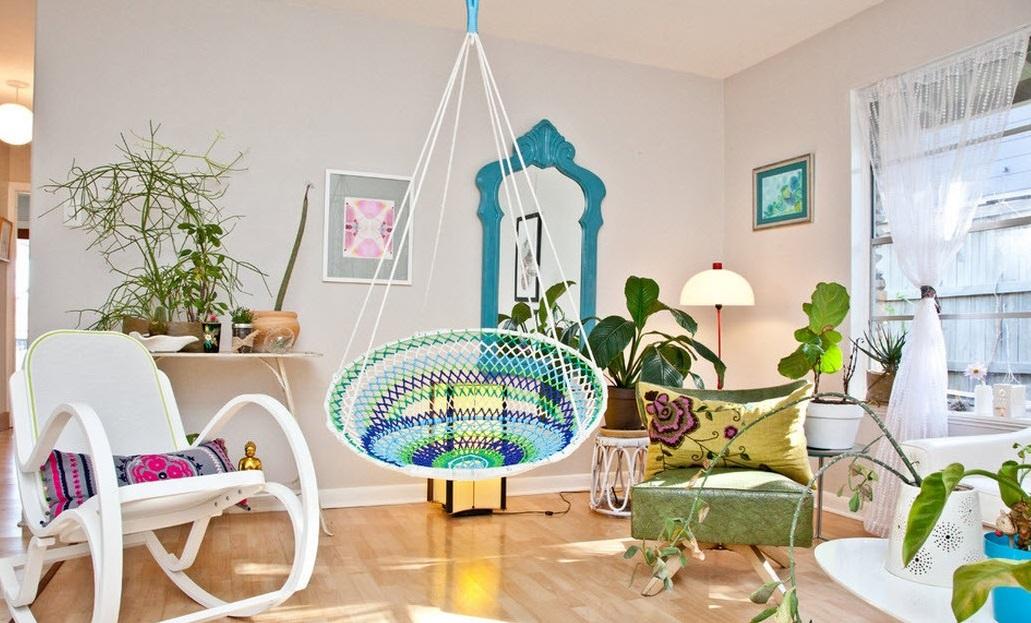 Интерьер в эко-стиле: природа просится даже в ультрасовременный дом