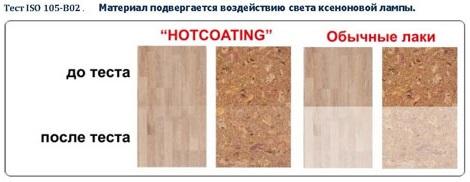 Устойчивость к ультрафиолету Hotcoating