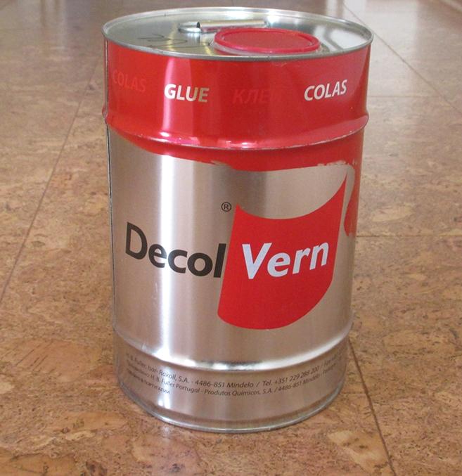 Клей для пробки Decol Vern 5л