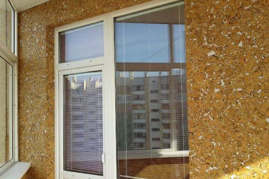 Отделка балкона пробкой и пробковыми панелями