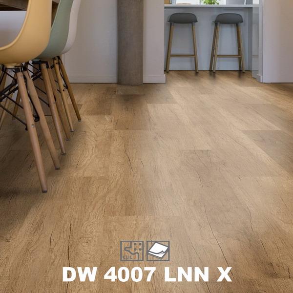 Замковый пробковый пол Corkart Design Concept DW 4007 LNN X в интерьере