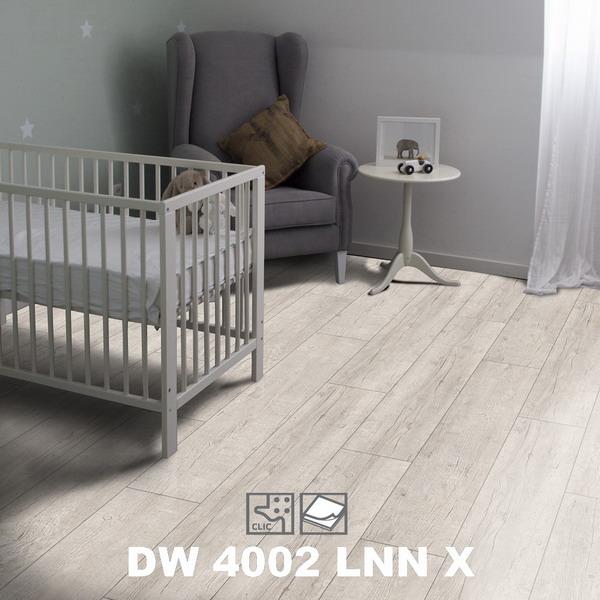 Пробковое напольное покрытие Corkart Design Concept GW 4002 LNN X в интерьере