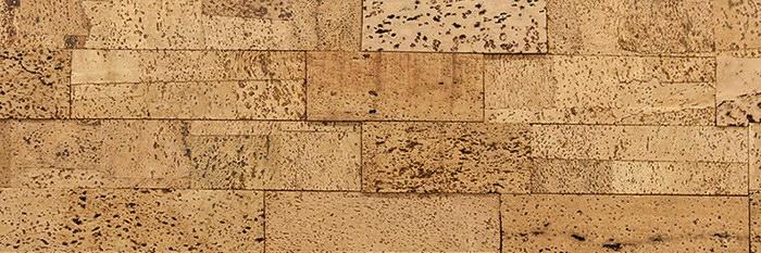 Стеновые 3Д панели Corkstyle Corkbrick Antico Naturale - фактура