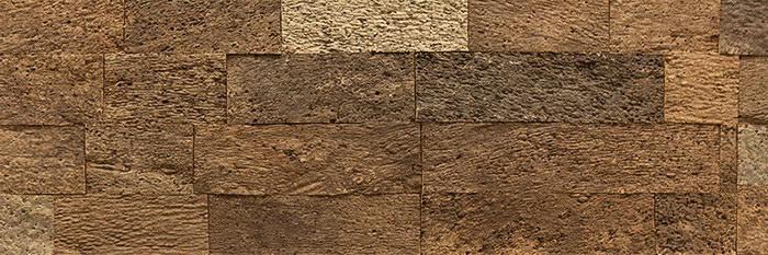 Стеновые 3D панели Corkstyle Corkbrick Natura - фактура