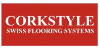 Клеевой пробковый пол Corkstyle логотип производителя