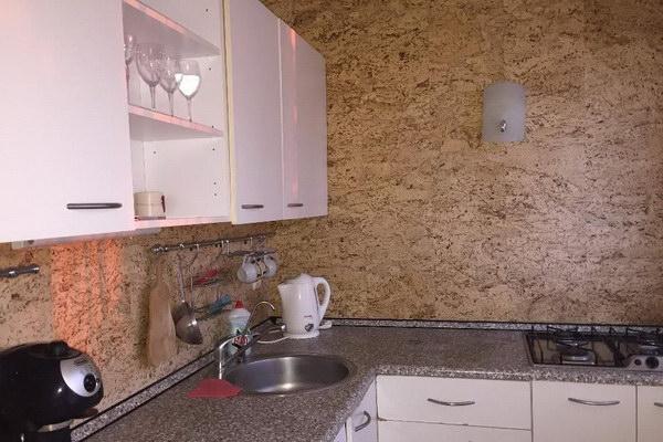 Пробковые покрытия на кухне в интерьере