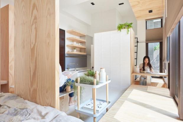Не потерять ни сантиметра: идеи 2017 года для интерьеров небольших городских квартир