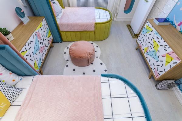Детская комната с пробковым поломCorkstyle CorkPro Comprido Milk фото 1