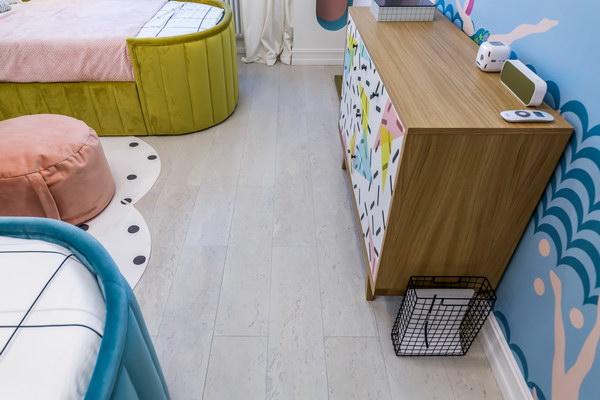 Детская комната с пробковым ламинатомCorkstyle CorkPro Comprido Milk фото 2