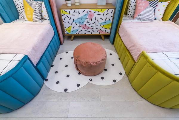 Детская комната с пробковым поломCorkstyle CorkPro Comprido Milk фото 4