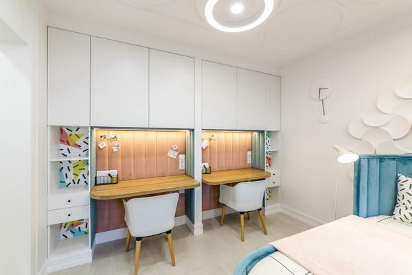 Детская комната с пробковым поломCorkstyle CorkPro Comprido Milk фото 6