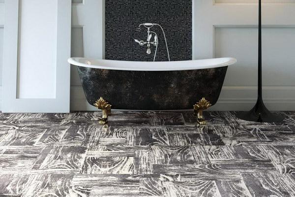 Пробковые покрытия в ванной
