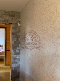 Отделка стен декоративными пробковыми панелями - фото 2