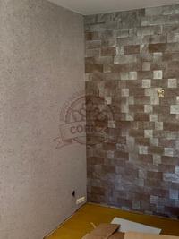 Отделка стен декоративными пробковыми панелями - фото 3