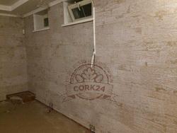 Укладка клеевого пробкового пола и стеновых панелей - фото 5