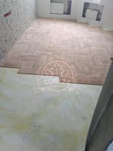 Фигурная укладка клеевого пробкового пола Wicanders Plaza - фото 1